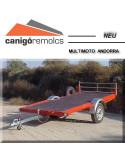 Remolques para transportes: Remolque Moto Nieve