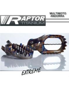 Estribos para enduro: Estribos Raptor Titanium xtreme enduro 2017 KTM