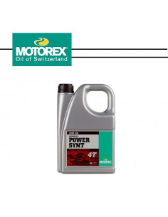 MOTOREX Power Synt 10W/60 4T 4L
