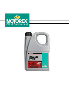 MOTOREX Power Synt 10W/50 4T 4L