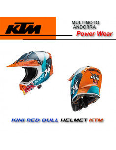 Casco KTM Kini Red Bull Comp Light