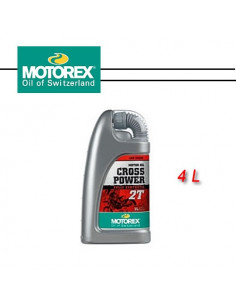 MOTOREX CROSS POWER 2T 4L