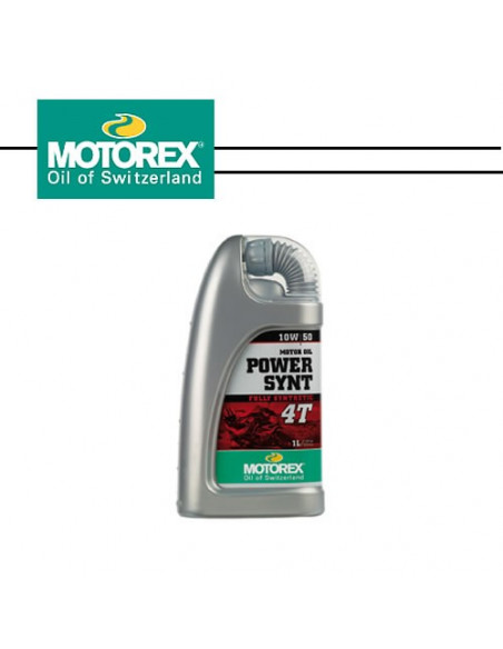 MOTOREX POWER SYNT 10W/50 4T 1L