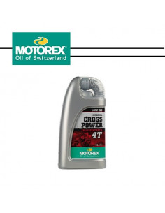 MOTOREX CROSS POWER 10W/50 4T 1L